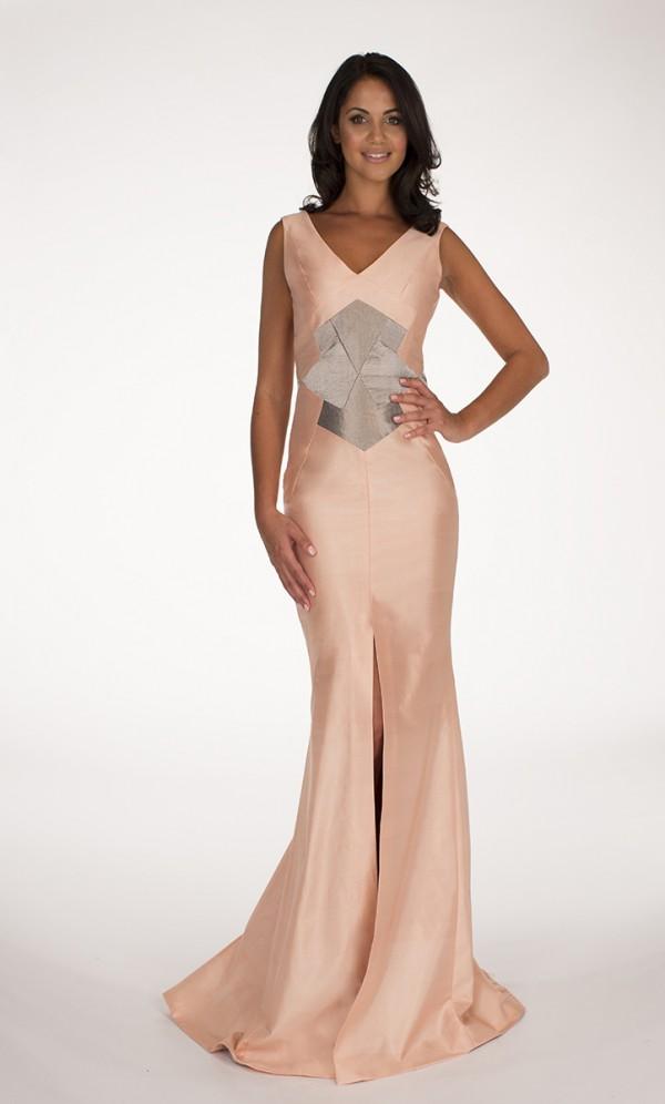Blush Pink Farah Maxi Dress