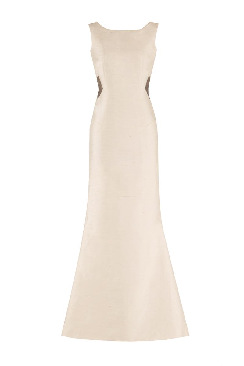 Hasti maxi dress Ivory