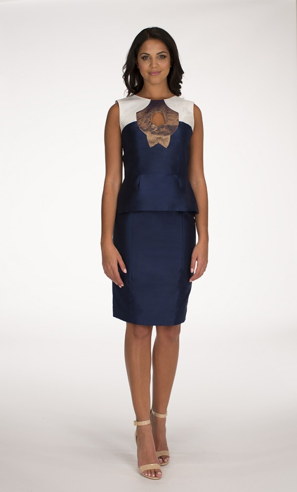 Navy Blue Yaas top Navy Blue Saba skirt