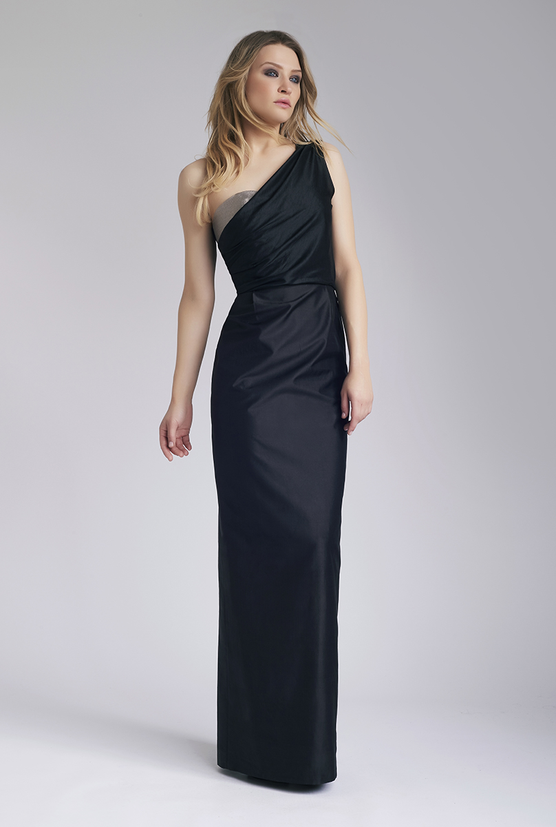 Black Mehr Maxi Dress