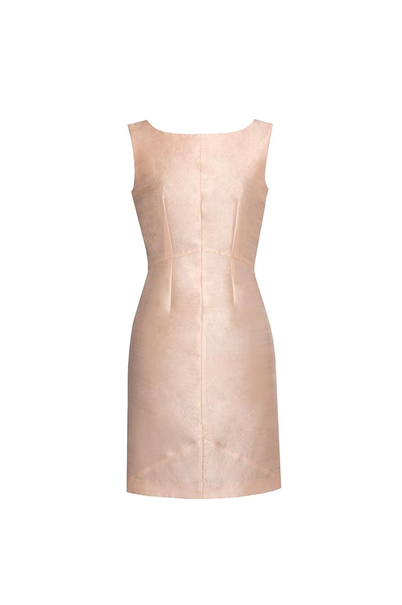 Blush pink & Ivory Moje Dress