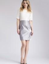 Short Sleeve Ivory Maah Dress