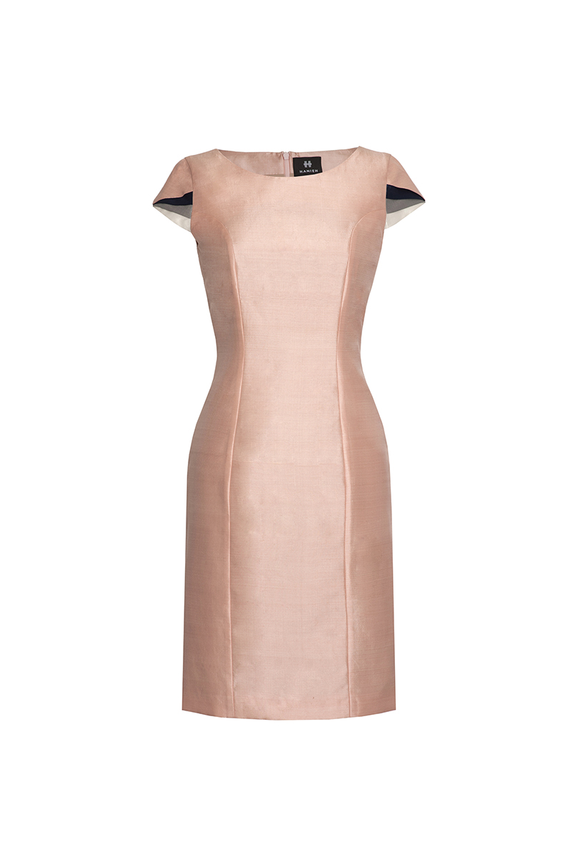Blush Pink Bahar Dress