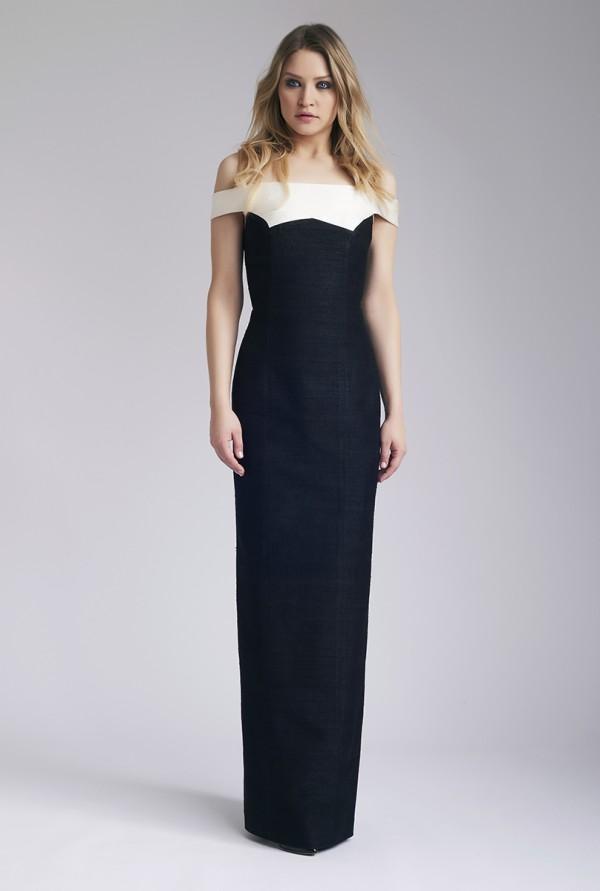 Black Donia Maxi Dress