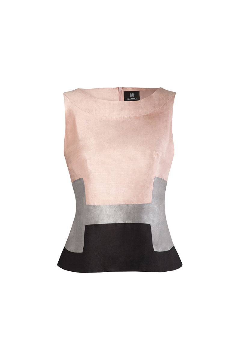 Blush pink Hanieh Top