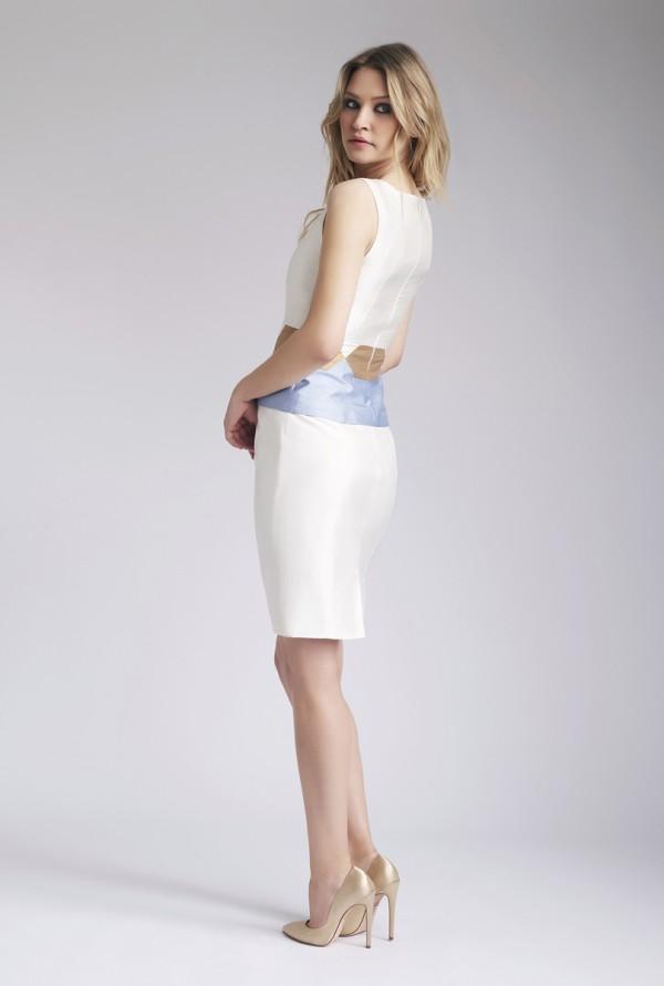 Ivory Nava Top & Saba Skirt