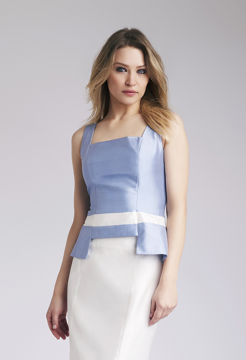 Light Blue Elina Top