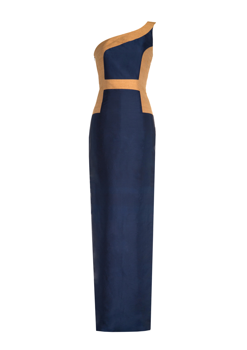 Hani Maxi Dress Navy