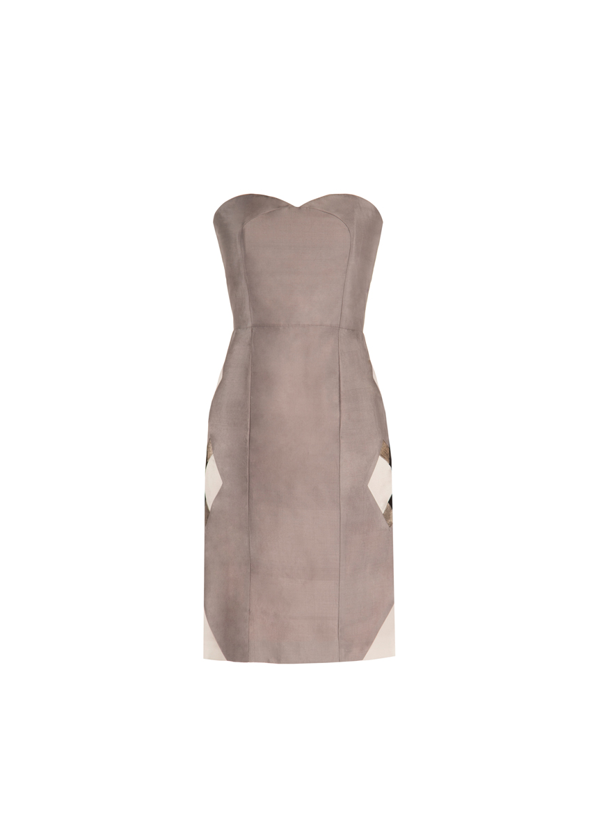 Maah Dress Silver