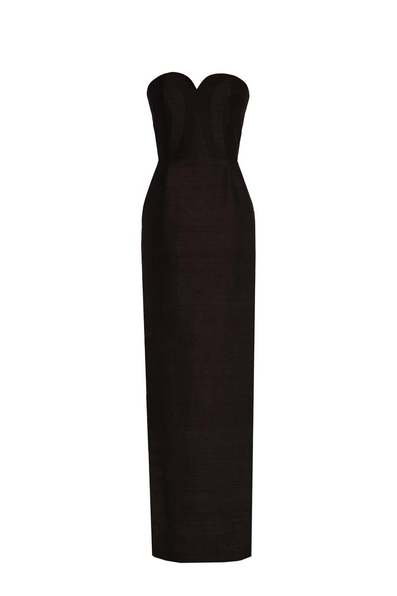 Zeba Maxi Dress Black