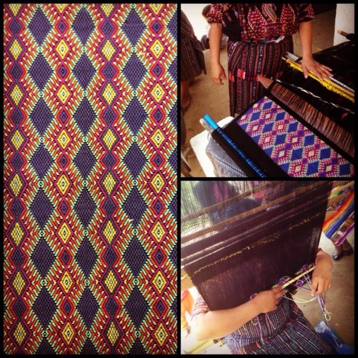 Hand woven fabric Guatemala