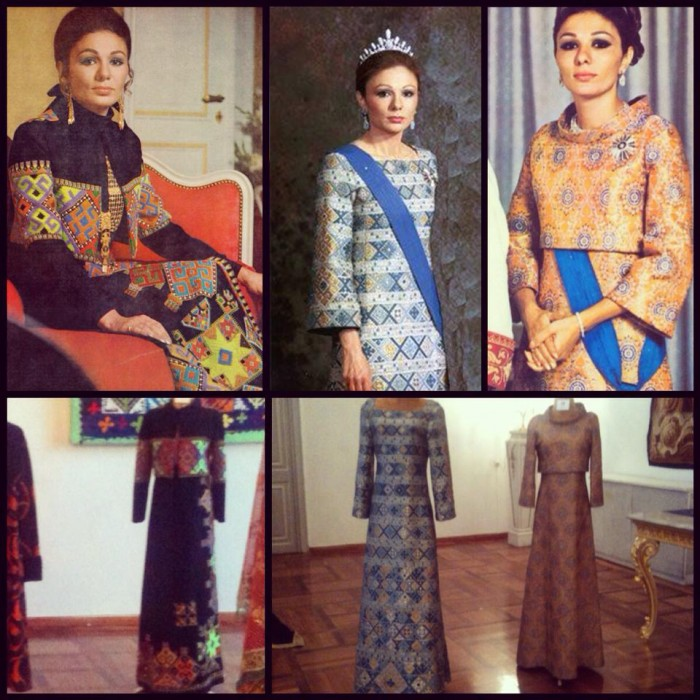 Farah Pahlavi dress exhibition - Niavaran Palace Complex