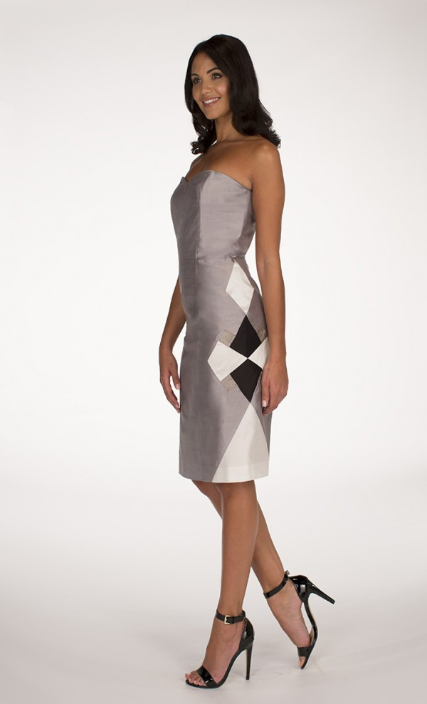 Silver Maah dress