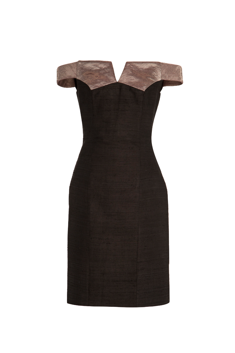 Black Delbar Dress