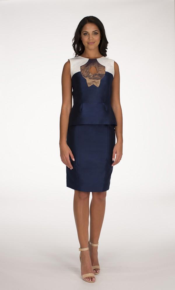 Navy Blue Yaas top Navy Blue Saba skirt
