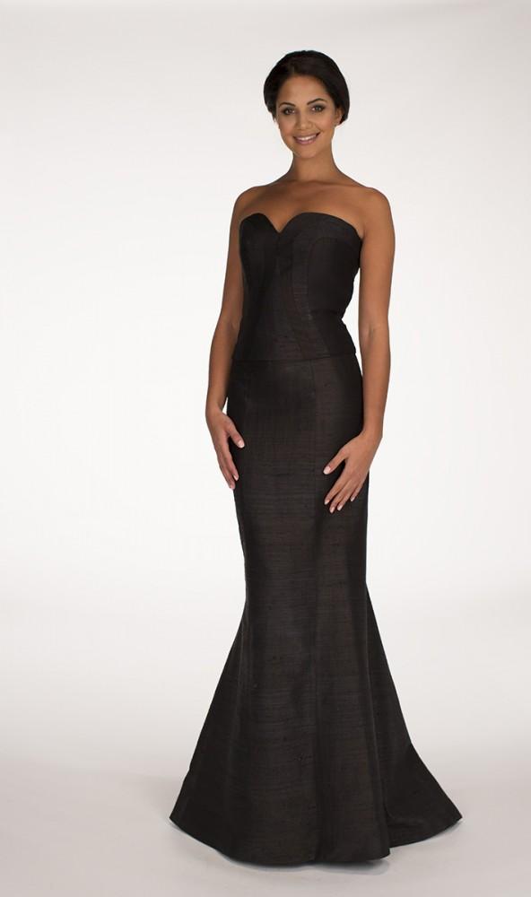 Black Zeba top Black Darya skirt