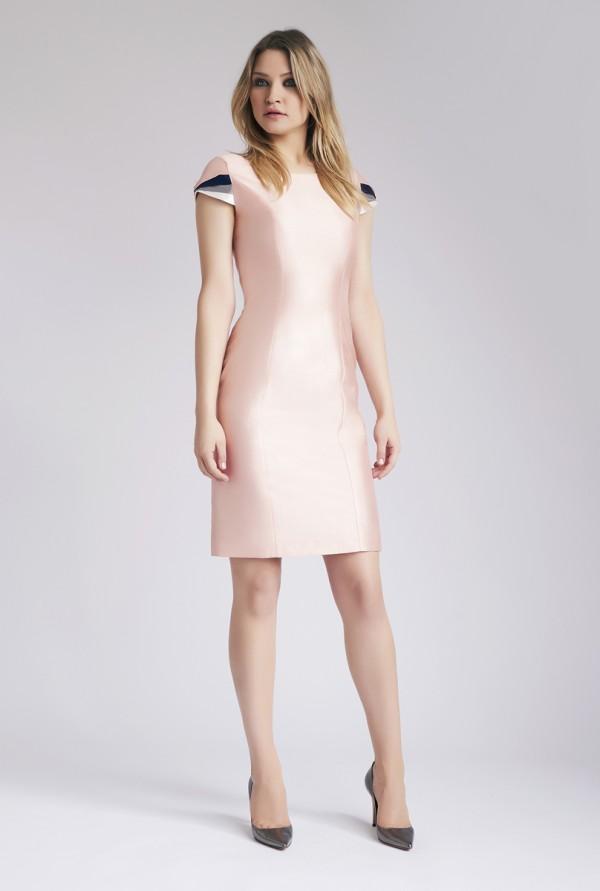 Blush Pink Bahar Dress