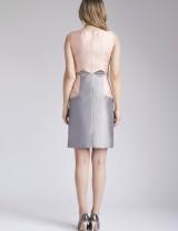 Blush Pink & Silver Farah Dress