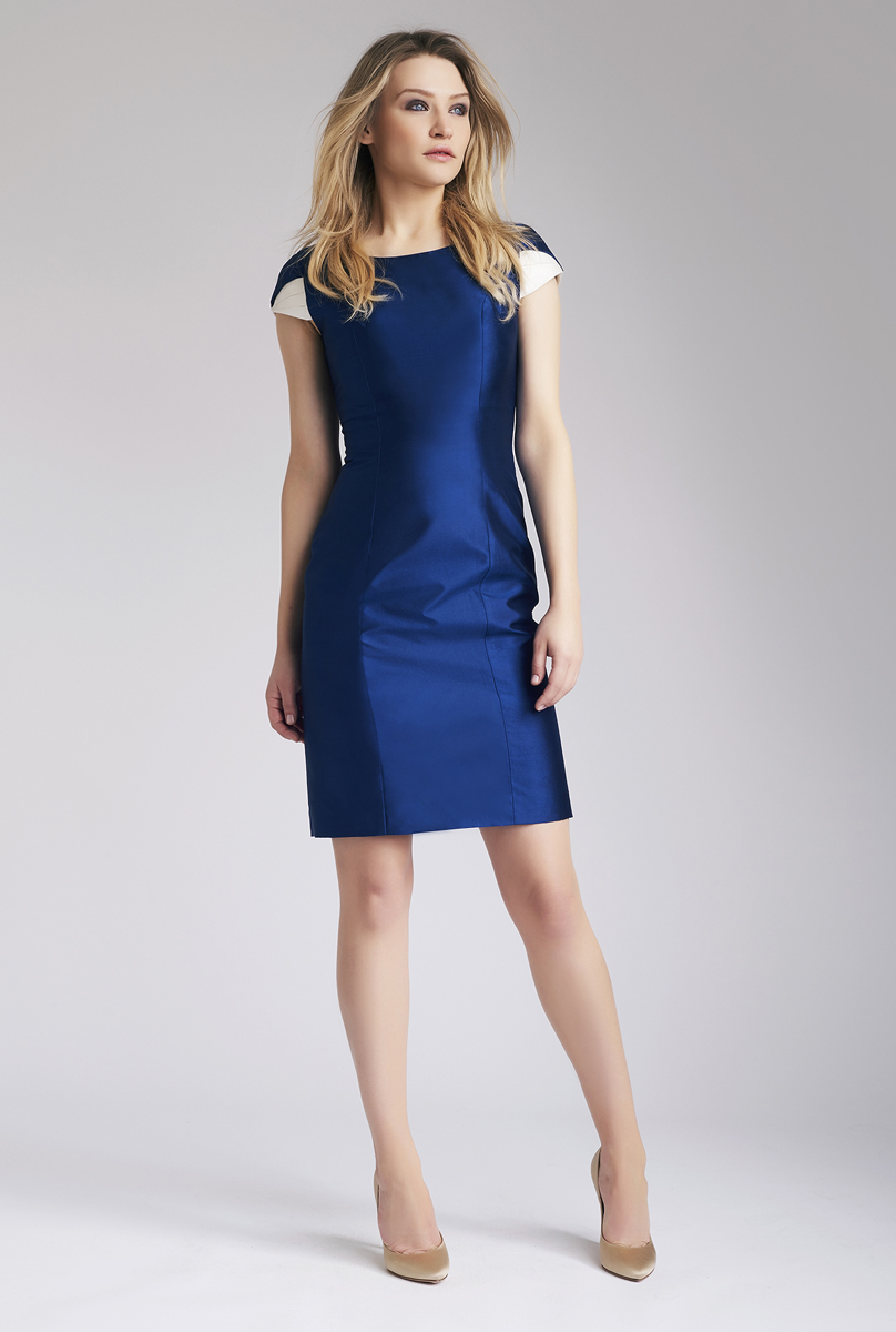 Navy Bahar Dress