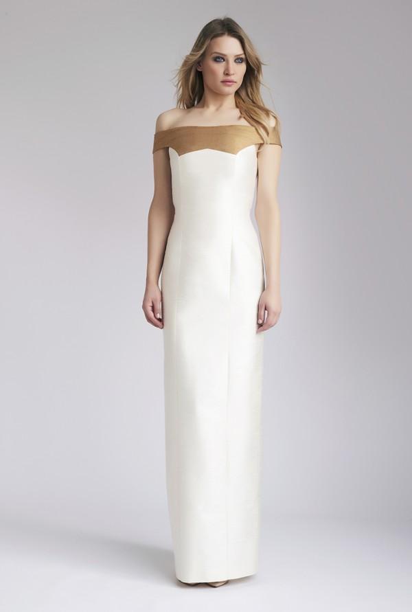 Ivory Donia Maxi Dress