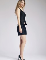 Black Elina Top & Rasa Shorts