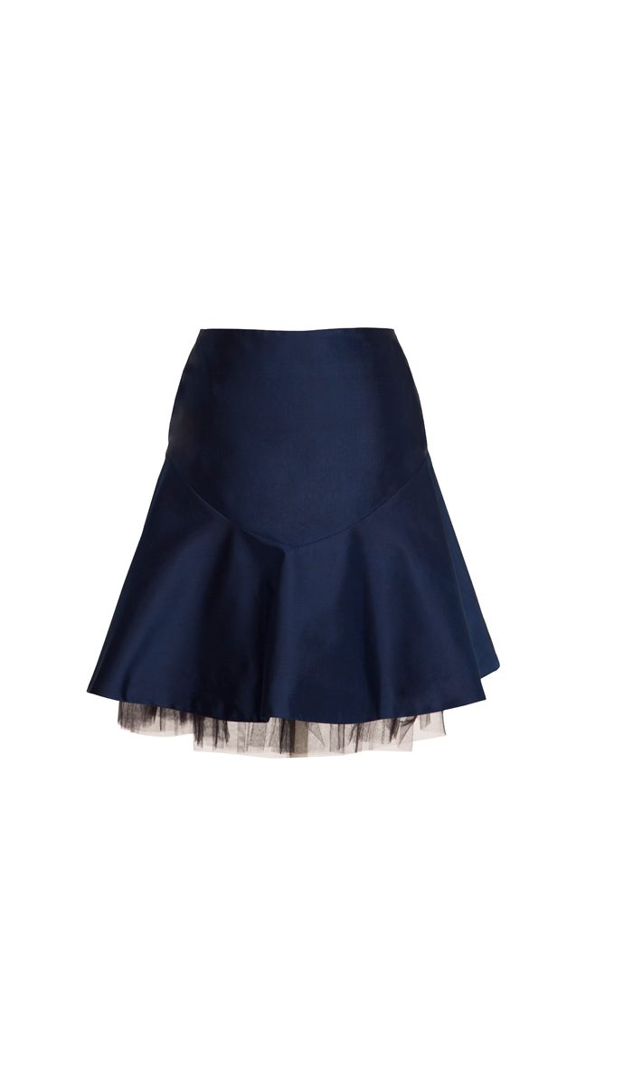 All our skirts to cover the knees when sitting, the skirts that do have slits are below the knee, We offer a wide range of styles of modest denim skirts, long denim skirts, floral printed skirts, school uniform skirts, navy skirts, calf length skirts, pleated uniform skirts, school uniform skirts.