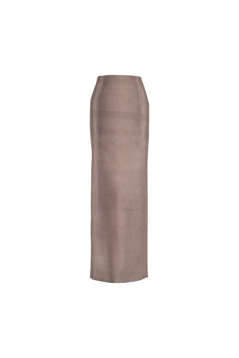 Noor skirt silver